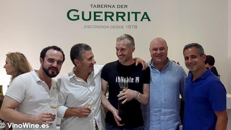 Fiesta de aniversario de la Taberna der Guerrita en Sanlúcar
