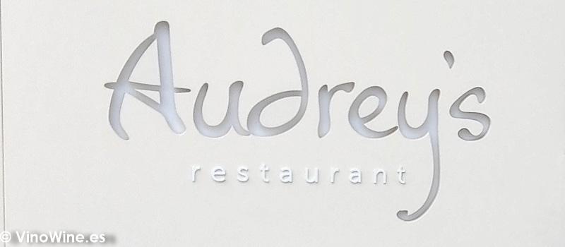 Logotipo del Restaurante Audrey s en Calpe Alicante