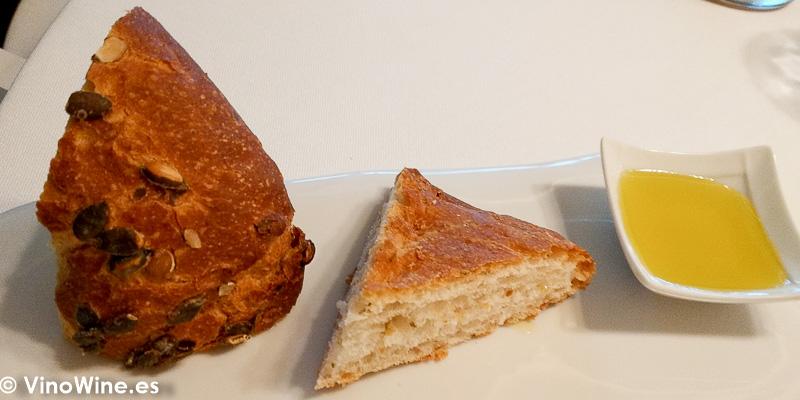 Servicio de pan del Restaurante Audrey s en Calpe Alicante