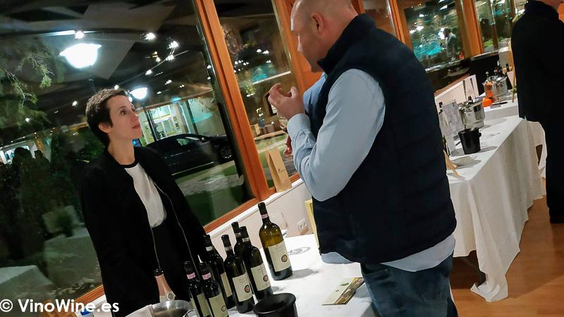 Azienda Agrícola Scacciadiavoli presente en La Odisea Muestra de vinos Homericos