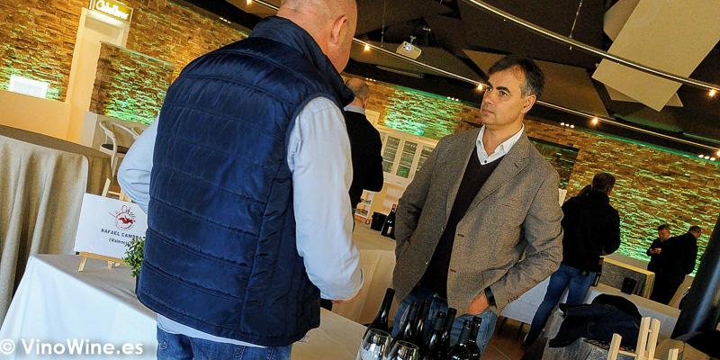 Bodegas Rafael Cambra presente en La Odisea Muestra de vinos Homericos