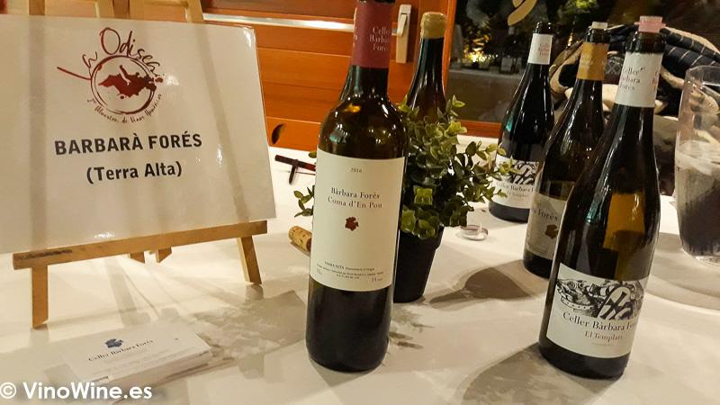 Celler Barbara Fores La Odisea Muestra de vinos Homericos