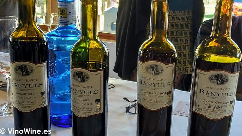 Domaine du Traginer particpo con sus vinos en La Odisea Muestra de Vinos Homericos