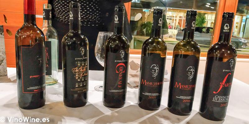 Giuseppe Sedilesu La Odisea Muestra de vinos Homericos