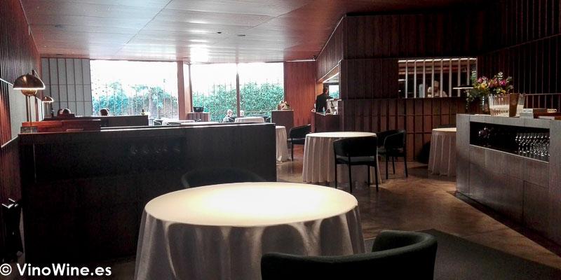Vista parcial de la sala del Restaurante Ricard Camarena en Valencia