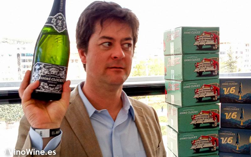 Andre Clouet Champagne catados en El Alma de los Vinos Unicos 2019 en Burgos