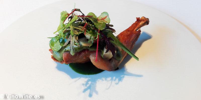 Conejo del Restaurante La Salita en Valencia