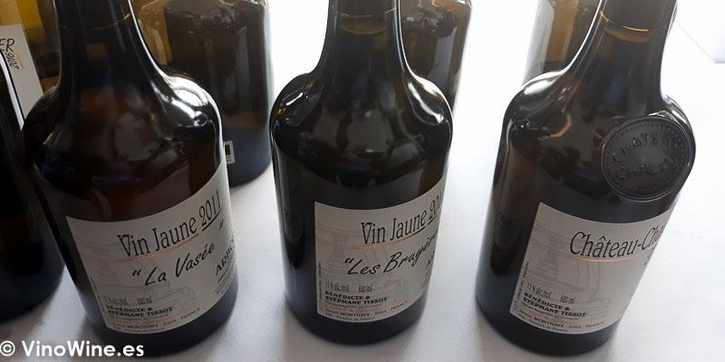 Domaine Andre et Mireille Tissot catados en El Alma de los Vinos Unicos 2019 en Burgos