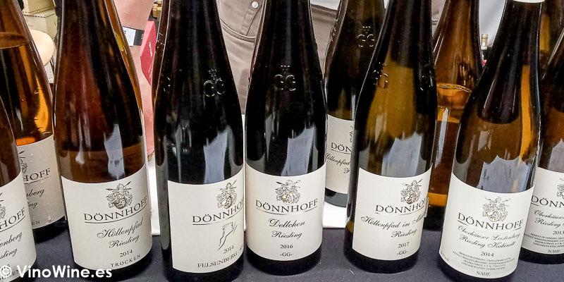 Donnhoff Nahe Alemania catados en El Alma de los Vinos Unicos 2019 en Burgos