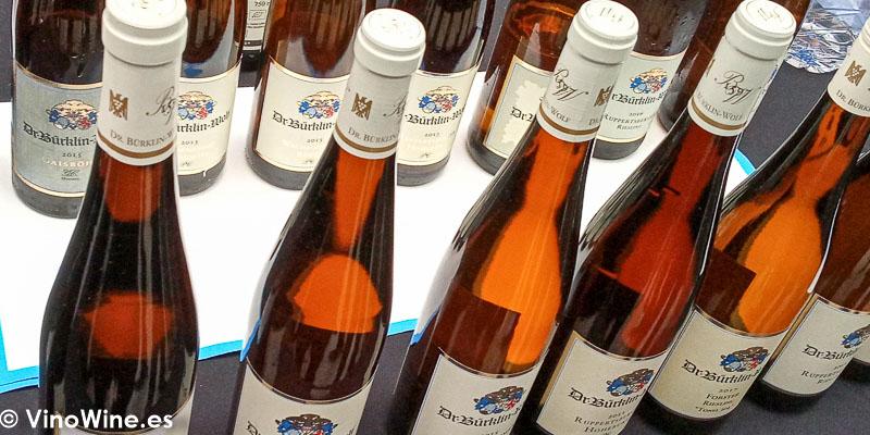 Dr Burklin Wolf de Pfalz Alemania catados en El Alma de los Vinos Unicos 2019 en Burgos