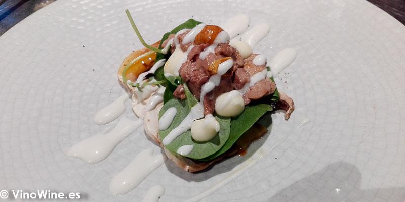 o de bacalao del Restaurante Canabota en Sevilla
