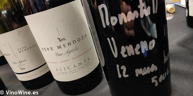 Pepe Mendoza Casa Agricola Alicante catados en El Alma de los Vinos Unicos 2019 en Burgos