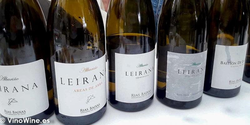 Rodrigo Mendez Rias Baixas Galicia catados en El Alma de los Vinos Unicos 2019 en Burgos