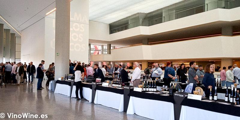 Vista parcial de la muestra de vinos El Alma de los Vinos Unicos 2019 en Burgos
