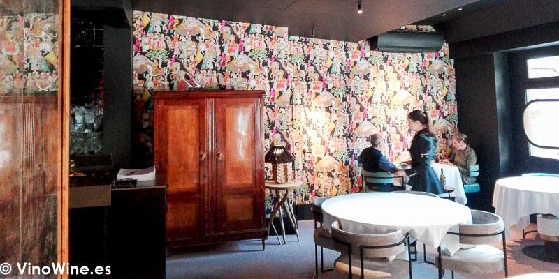 Vista parcial de la sala del Restaurante La Salita en Valencia