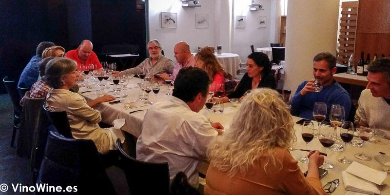 Cena de Los Restauranteros en el Restaurante Abantal en Sevilla