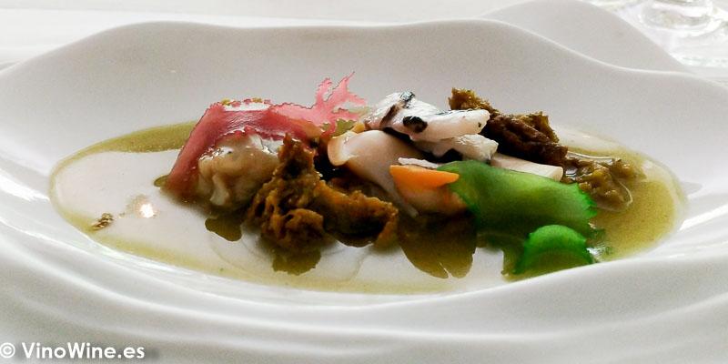 Fondo marino del Restaurante Tribeca en Sevilla
