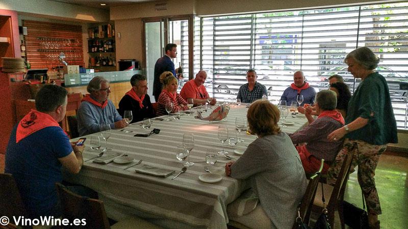 Mesa de los Restauranteros en el Restaurante Tribeca en Sevilla