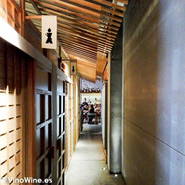 Vista parcial del Restaurante Nozomi en Valencia