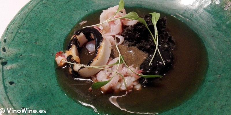 Calamar del Restaurante Maralba en Almansa
