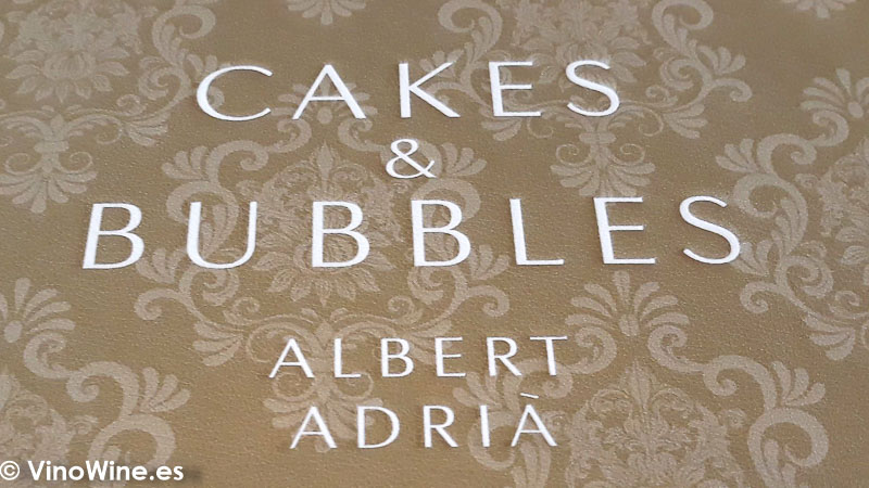 Detalle decorativo de Cakes and Bubbles de Albert Adria en Londres