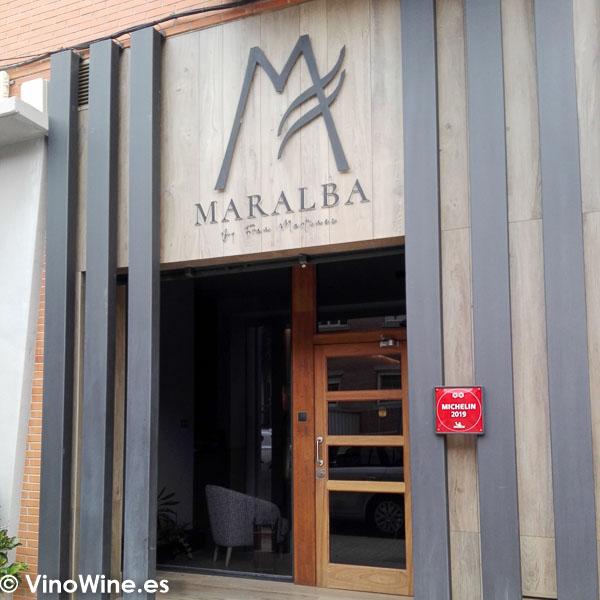 Fachada del Restaurante Maralba en Almansa