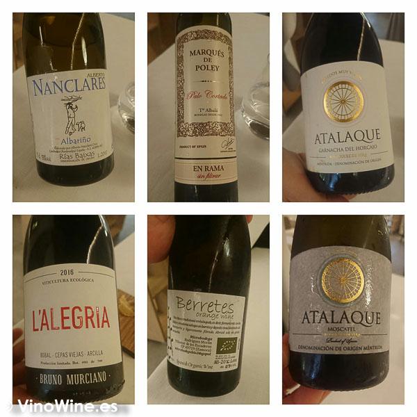 Vinos disfrutados en el Restaurante Maralba en Almansa
