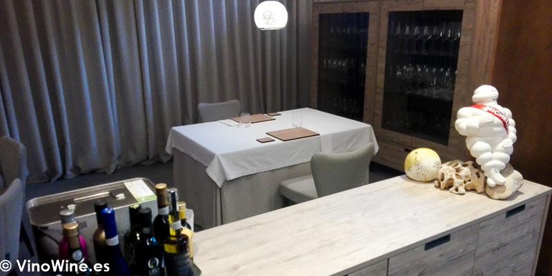 Vista parcial de la sala del Restaurante Maralba en Almansa