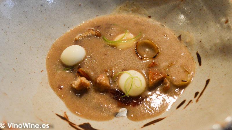 Sopa de cebolla del Restaurante Fierro en Valencia