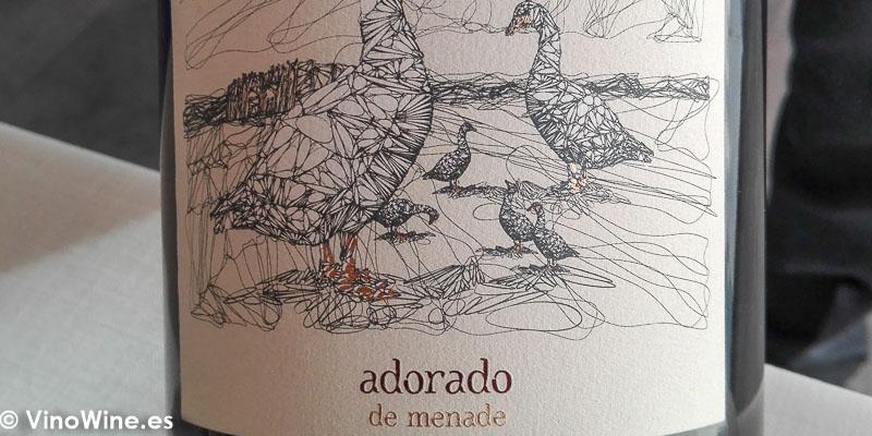 Adorado de Menade bebido en el Restaurante Bonamb de Javea en Alicante