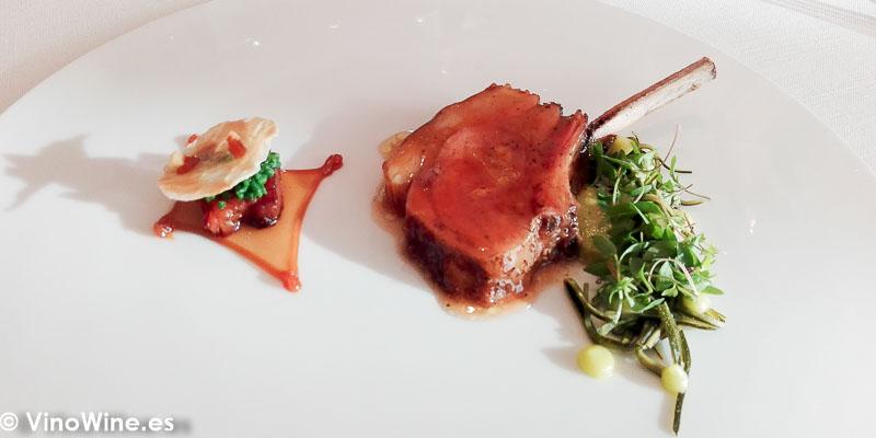 Agnei iberico del Restaurante Bonamb de Javea en Alicante