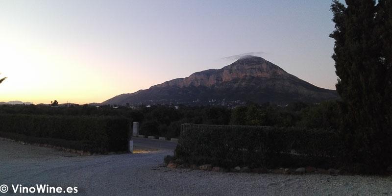 Entrada al Restaurante Bonamb de Javea en Alicante