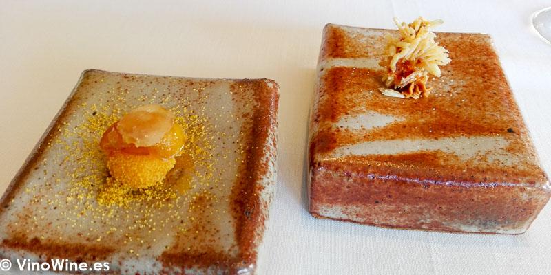 Otro bocado de salmonete del Restaurante Bonamb de Javea en Alicante