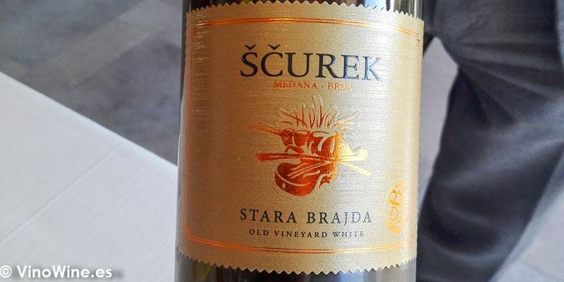 Scurek Stara Brajda bebido en el Restaurante Bonamb de Javea en Alicante