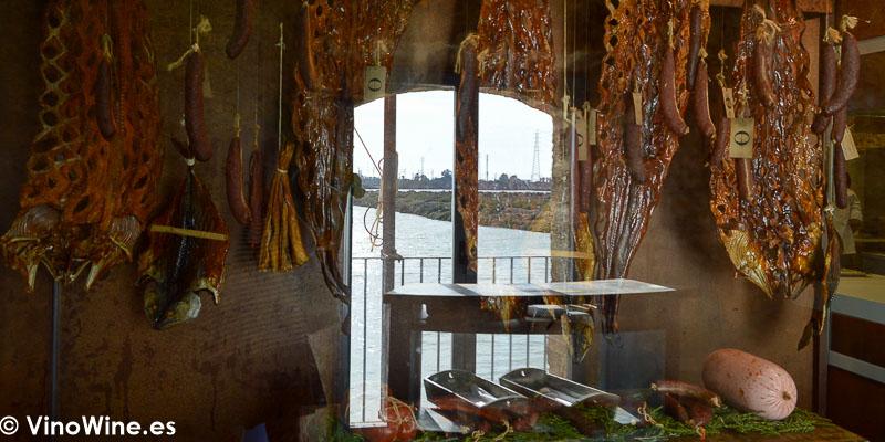 Embutidos marinos del Restaurante Aponiente el Chef del Mar