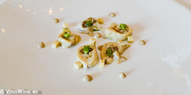 Ostra del Restaurante Aponiente el Chef del Mar