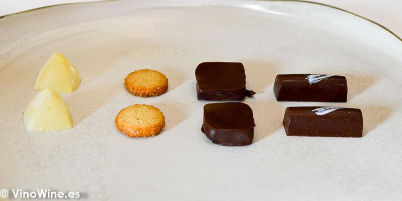Petit fours del Restaurante Aponiente el Chef del Mar