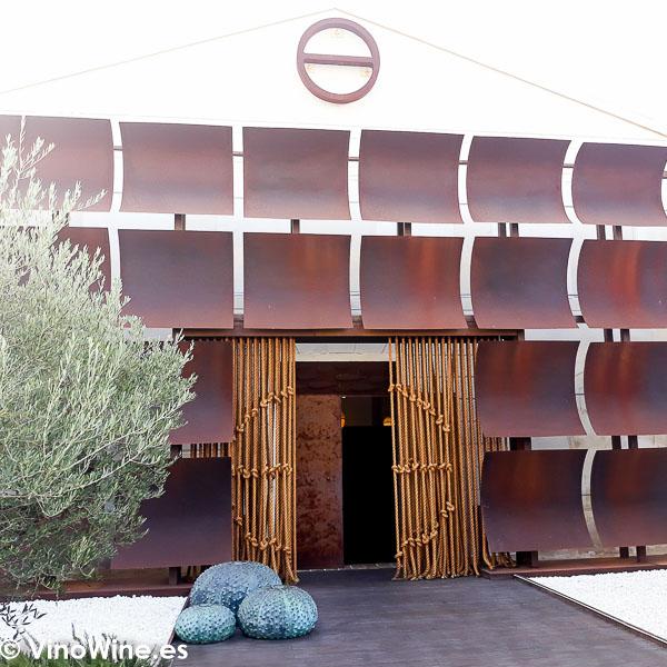 Puerta principal del Restaurante Aponiente el Chef del Mar