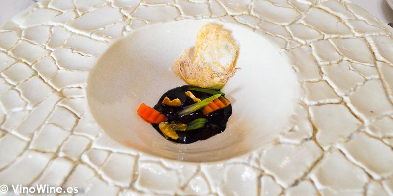 Puntilla del Restaurante Aponiente el Chef del Mar