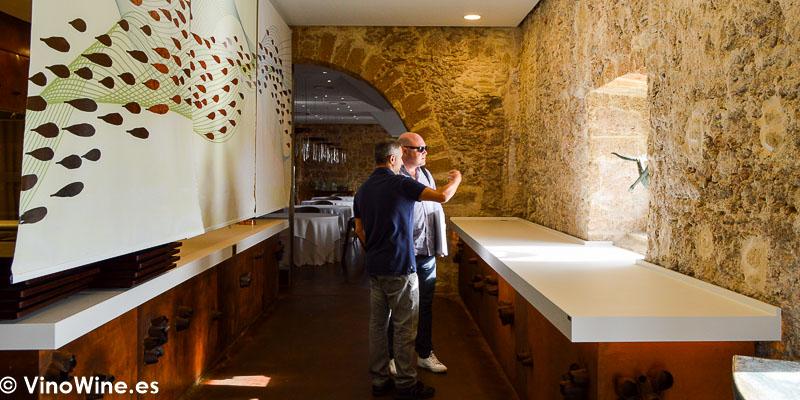 Rafa Garrido y Jose Ruiz en el Restaurante Aponiente el Chef del Mar