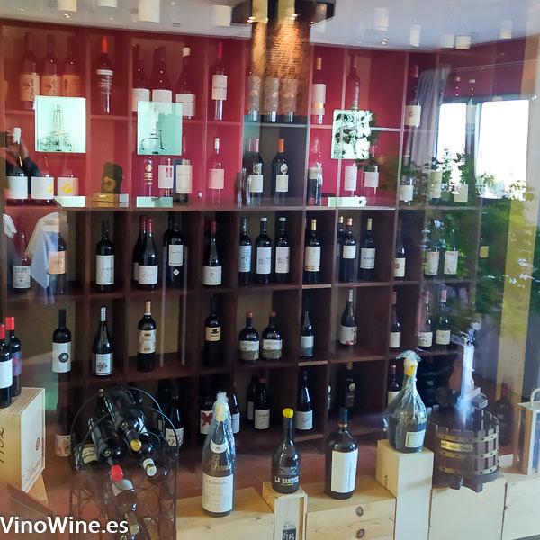 Bodega del restaurante Cal Paradis de Vall Alba en Castellon
