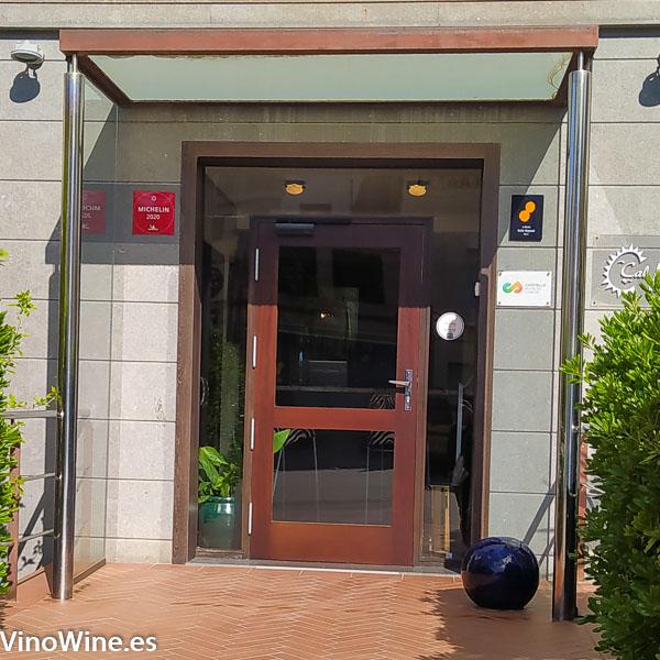 Puerta de acceso al restaurante Cal Paradis de Vall Alba en Castellon