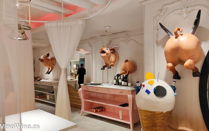 Restaurante Diverxo en Madrid
